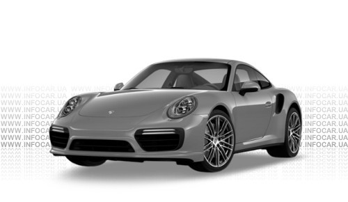 Цвета 911 Turbo