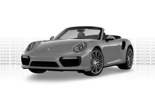 Цвета 911 Turbo Cabriolet